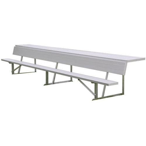 7.5' Players Bench - 7.5' Player's Bench With Shelf