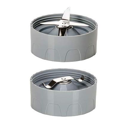 Licuadora de pie Genius Feelvita Nutri 31 partes, para Smoothies, mezcla, agitación, 23000 rpm, 600 vatios, 1 litro: Amazon.es: Hogar