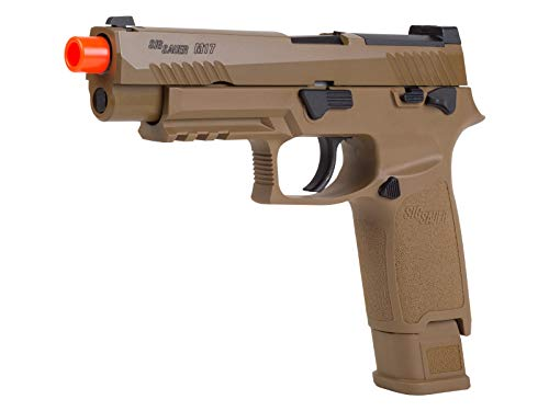 Sig Sauer AIR-PF-M17-GG Airsoft Proforce 6mm Plastic BB, M17 Coyote, One Size