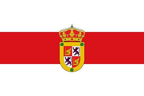 magFlags Bandera Large Municipio de Cadalso de los Vidrios Comunidad de Madrid | Bandera Paisaje | 1.35m² | 90x150cm