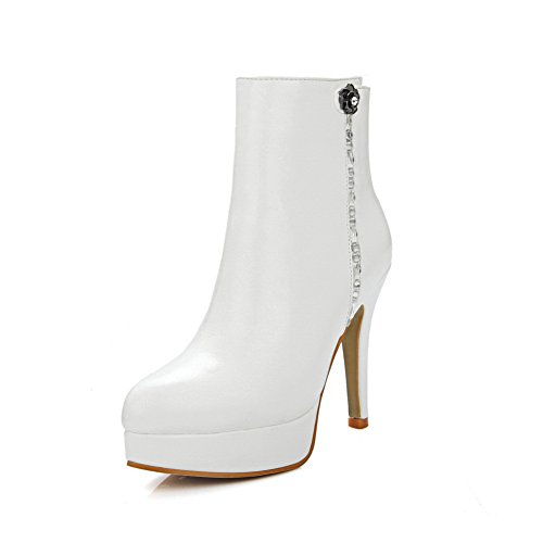 Donna Stivaletto 35 A amp;n Pantofole white Bianco A IqxBgAwtz