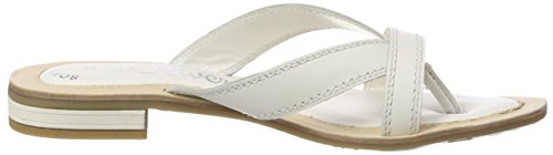 27128 Oliver para Mujer White Chanclas s Blanco pBv5twwq