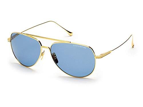 Sunglasses Dita FLIGHT. 004 7804 C-18K-POL 18K Gold w/Dark GreyBlue ()