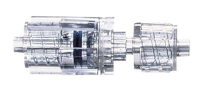 Luer Fittings, Polycarbonate Fittings, Male Lock x Male Lock, Rotating, Non-sterile
