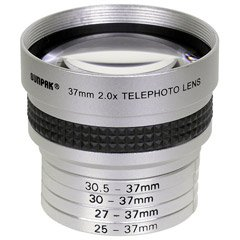 - Sunpak CAL-1040KIT 2.0x Tele-Conversion Lens Kit with 25, 27, 30, 30.5 and 37mm Filter Sizes