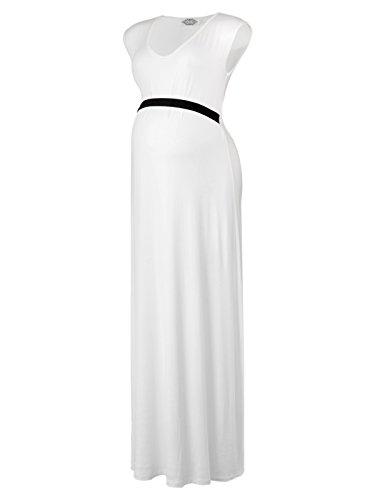 Sleeveless Black Maternity Dress - 8