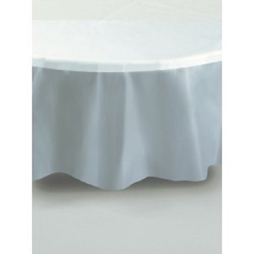 Clear Plastic Table Cover Round 84' Round Plastic Tablecloths