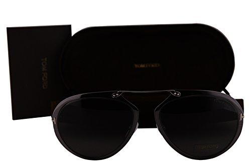Tom Ford FT0508 Dashel Sunglasses Gray w/Gray Lens 08Z TF508 (Sunglasses Ford Gray Tom)