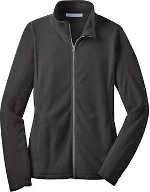 Gravity Womens Jacket (Port Authority L223 Ladies Microfleece Jacket - Black -)