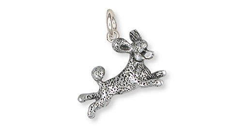 - Esquivel and Fees Poodle Jewelry Sterling Silver Poodle Charm Handmade Dog Jewelry PD60-C