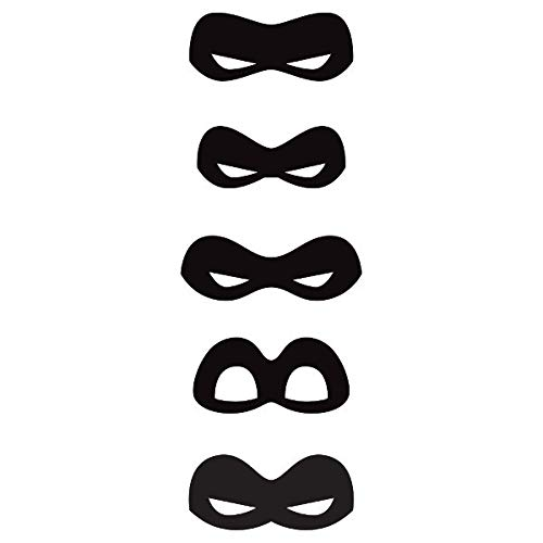 Disney's The Incredibles 2 Birthday Party Supplies 8 Pack Paper Eye -