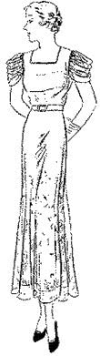 1933-35 One-piece Frock