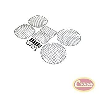Stone Guard Set (Stainless) - Crown# RT34064