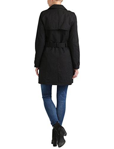 Noir coat Trench Ceinture Avec Berydale schwarz Femme 7nOEXqWx68
