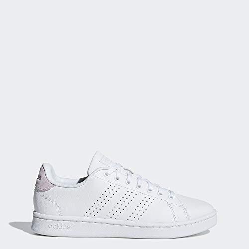 adidas Advantage Shoes Women's, White, Size 7 (Stan Smith Sleek)
