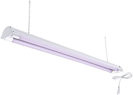 TOGGLED FH420DE-E416-G2310 4 Series Shop Light Includes Two GRO LED, 4 ft. 48 , Full-Spectrum Tubes