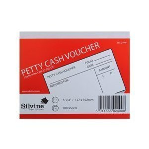 Manchester Stationery Pack of 2 A6 Petty Cash Voucher Books 148 105 MM