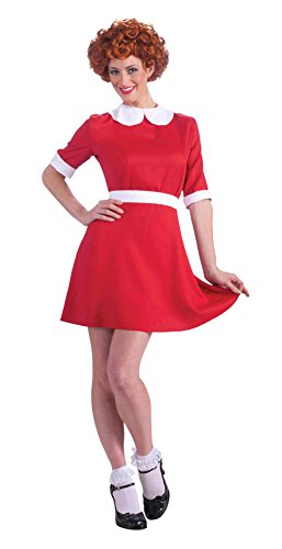 Annie Costume Adult Costume Std Halloween (Adult Annie Costume)