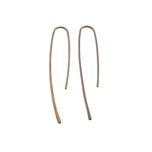 Threader Collection (Straight Pin Threader Earring - The Linear Collection)