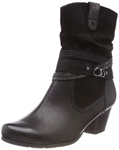 001 Jana Black Ankle 001 Boots 8 Black 21 Women's 8 25327 wZqX6w