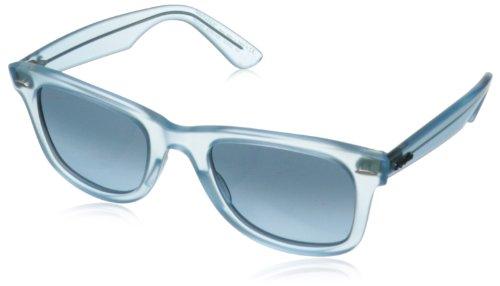 Ray-Ban WAYFARER - DEMI GLOSS ICE Frame BLUE GRADIENT BLUE Lenses 50mm Non-Polarized (Womens Wayfarer Sunglasses Ray Ban Original)