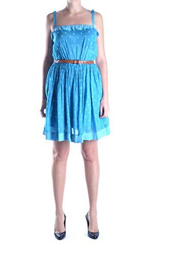 Twin Mcbi12724 set Donna Vestito Blu Cotone ZrZwpqaTx
