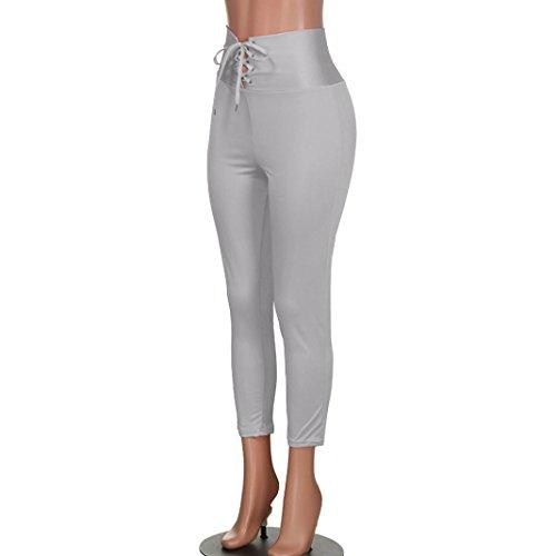 Taille Femme Unique Jeans Empire Taille Noir Jeanshosen Ecru ITISME Gris 4q0Tpx