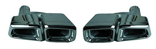 E//S 63 AMG OPTIK AUSPUFFBLENDEN AUSPUFF ENDROHRE PAAR W212 W204 W221 W207 R230