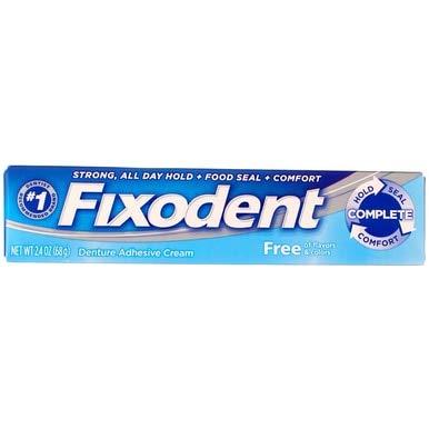 Fixodent Denture Adhesive Cream - 2.4 oz ()