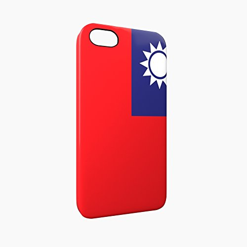 Flag of Taiwan Glossy Hard Snap-On Protective iPhone 5 / 5S / SE Case Cover