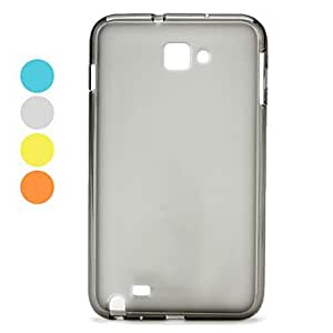 Simple Style Silicone Soft Case for Samsung Galaxy Note i9220 (Assorted Colors) --- COLOR:Gray