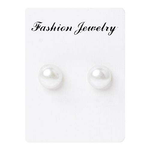 gLoaSublim Magnetic Earrings for Men Women Girl,Unisex Magnetic Therapy Weight Loss Ear Studs Acupoints Stimulating Earrings Pearl Color