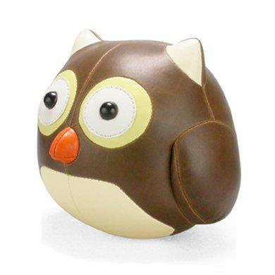 ZUNY Cicci Series Owl Brown Animal Bookend
