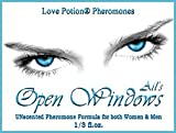 Love Potion: Open Windows ~ UNscented Pheromone Blend for Men and Women - 1/3 fl.oz. Roll On-Oil