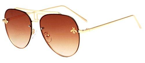 sol HD JYR Gafas Polaroid Aviator anti Fashion ultravioleta sol Unisex Tide Eyewear de Color3 Gafas de AnqgX