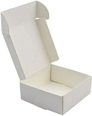 SNOWINSPRING 100 X/Lote Peque?A Caja de Papel Kraft CartóN Caja ...