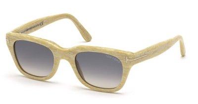 TOM FORD TF 237 60B Sunglasses Snowdon Beige/ Grey Gradient - Ford Sunglasses Snowdon Tom
