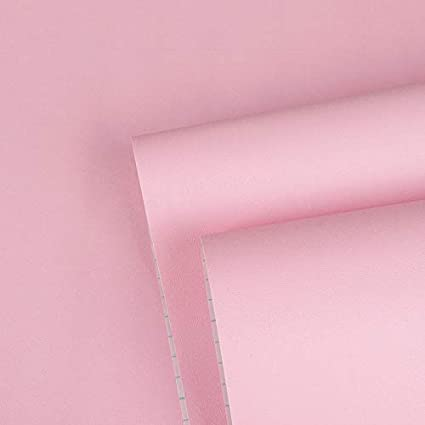 Pink Wallpaper Solid Color Pink Peel And Stick Wallpaper For Girls Self Adhesive Wallpaper Removable Pink Shelf Liner Drawer Liner Pink Wrapping Paper