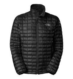 (The North Face Men's Thermoball Full Zip Jacket, TNF Black, Large)