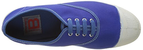 Bensimon Tennis Vintage Lacet - Botas Mujer Azul (Bleu Vif)