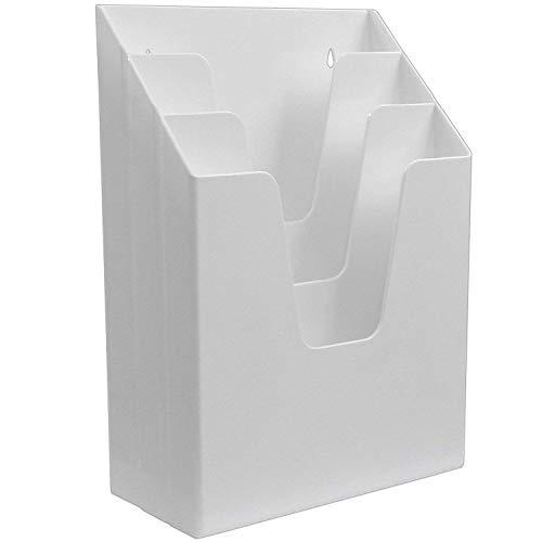 Acrimet Vertical Folder Organizer White