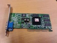 - ATI 1024-F106-0D-SA RAGE 128PRO ULTRA 32MB AGP VIDEO CARD