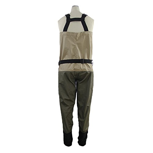 Neygu waterproof stocking foot wader men 39 s breathable for Fishing waders amazon