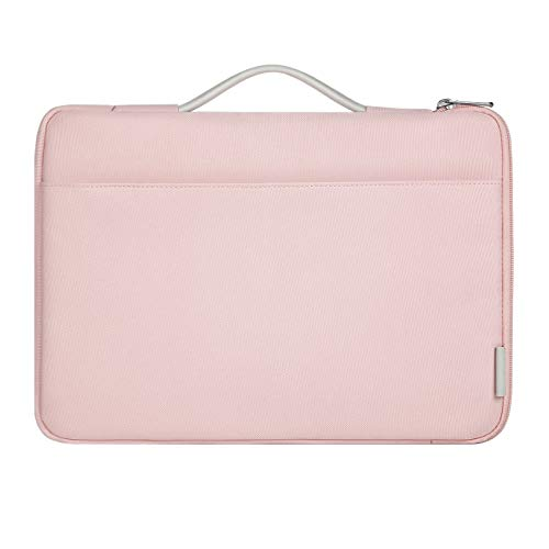 Inateck 13-13.3 Inch Laptop Case Sleeve Bag Compatible 13.3 Inch MacBook Air(Including 2018 Version)/MacBook Pro Retina 2012-2015, 2018/2017/2016, Surface Pro 3/4/5/6, Surface Laptop 2017/2 - Pink