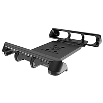 RAM Mount Tab-Tite Universal Clamping Cradle for 10 Tablets With or Without Heavy Duty Cases Car Accessories