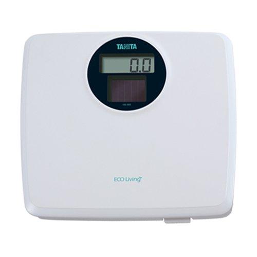 Tanita HS302 White Solar Powered Digital Bathroom Scale