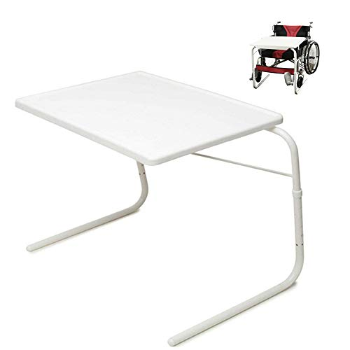 Wheelchair Tray Table Removable Padded Board Attachment Cup Holder Adjustable Desk tv Laptop Overboard for Senior Adult Eating arm (Best Wheel Chair Trays)
