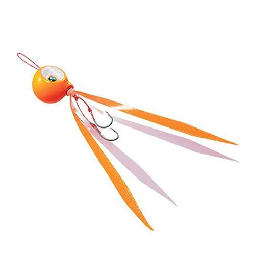シマノ(SHIMANO) メタルジグ タイラバ 炎月 タイガーバクバク 45g EJ-404Q 009 オレンジフラッシャーの商品画像
