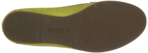 Ecco 353743, Mocassins femme Jaune (Olive Oil 02553)