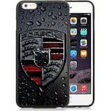 iPhone 6S Plus 5.5 Inches Porsche Logo 2 Black Screen TPU Phone Case Luxury and Newest Design